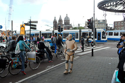 DUMMY on Tour in Amsterdam