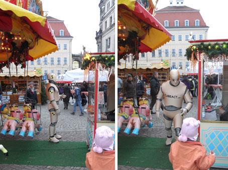 DUMMY on Tour - Dresdner Striezelmarkt
